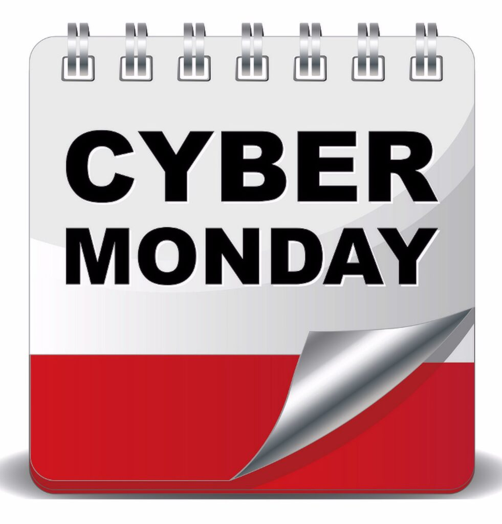 Cyber Monday on English Culture Blog