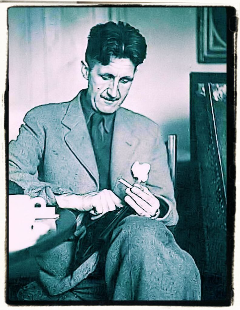 George Orwell thoughts and opinions on the art of writing