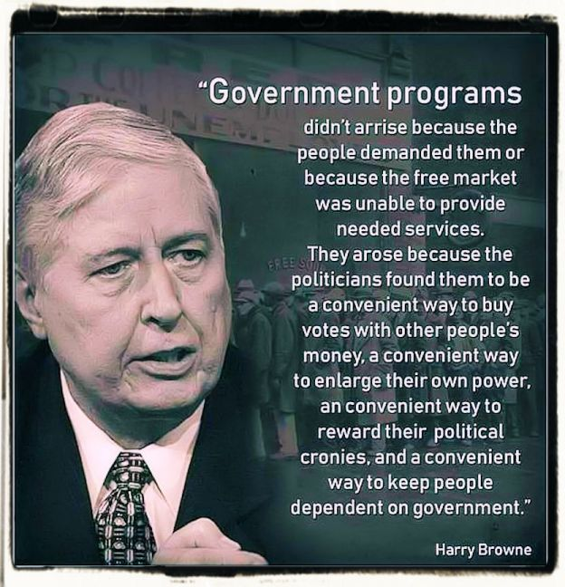 Harry Browne quote on government