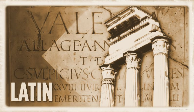 Latin the idiom of ancient Rome