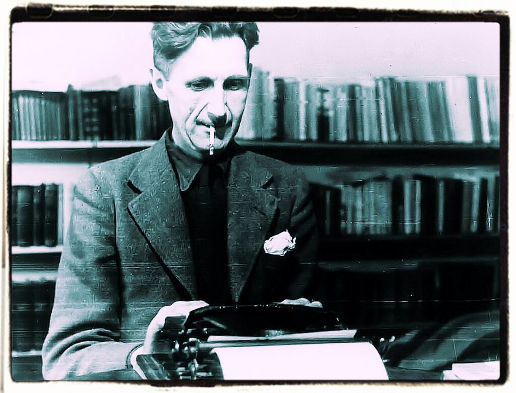 George Orwell Why I write