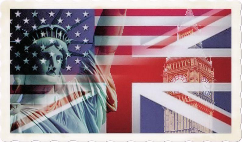American English and British English