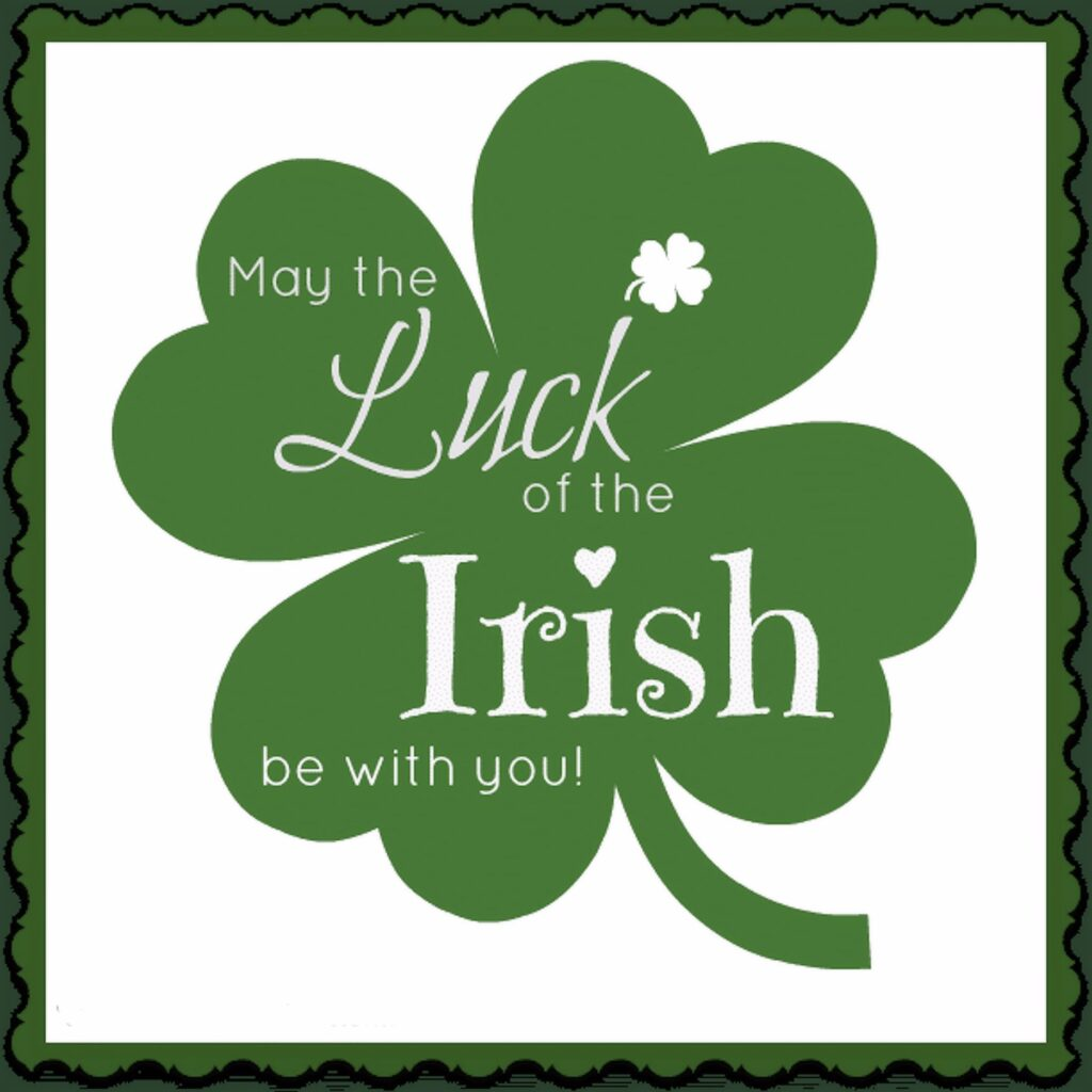 The luck of the Irish explained