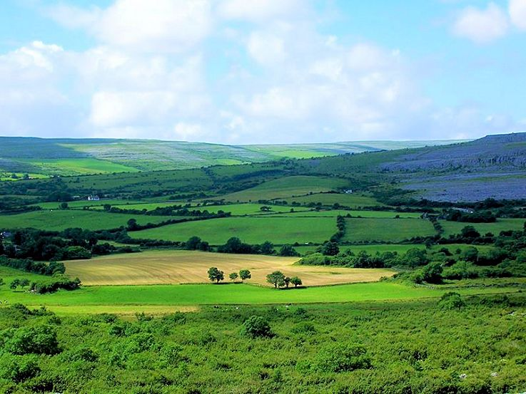The Irish beautiful countryside