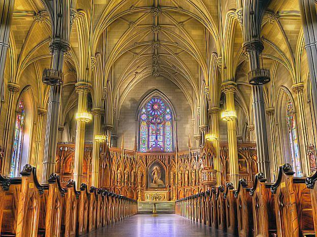 Saint Patrick Cathedral Interior Dublin
