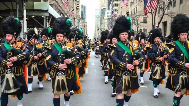 Saint Patrick Day parades