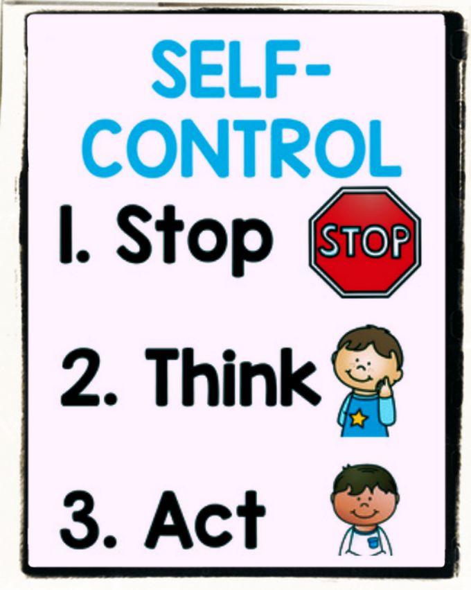 Teach Self-control to children