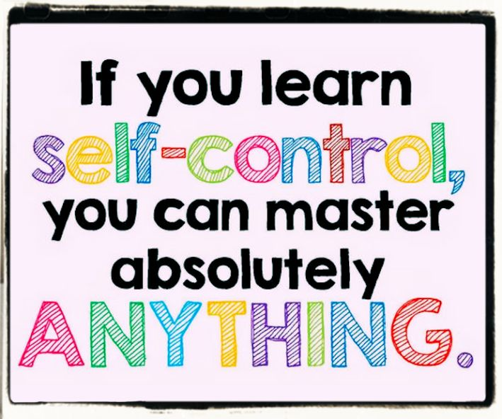 Aphorisms and quotes on self-control