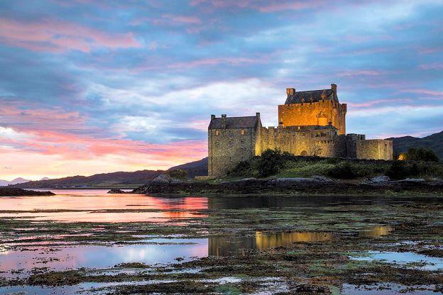 Scotland enchanted castle