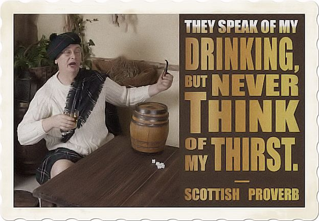 Famous Scottish proverbs
