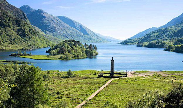 Scotland amazing natural beauties