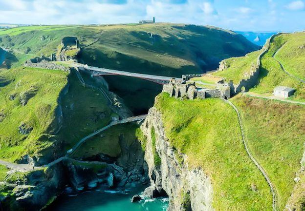 Tintagel Bridge Cornwall