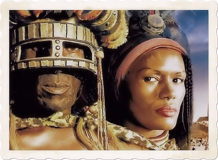 Shaka the king of Zulu