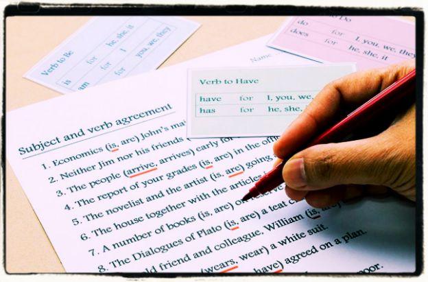 Grammar revision
