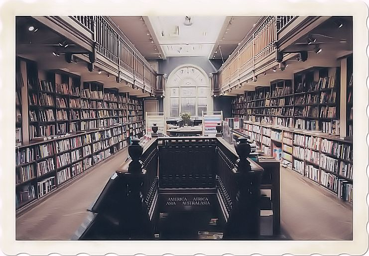 Reading in a library