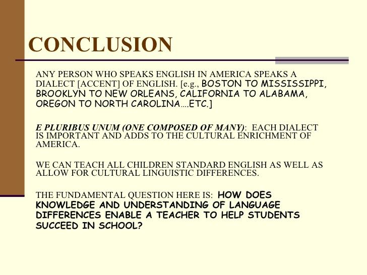 Black American English Article