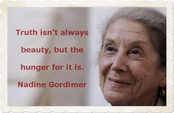 Nadine Gordimer quote