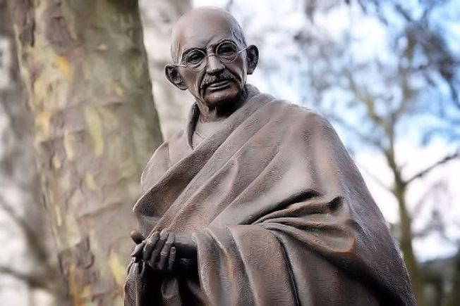 Gandhi statue in London